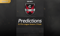 Call of Duty EU Pro League Season 2 Predicitions